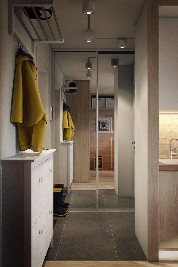 Особенности дизайна интерьера прихожей и коридора