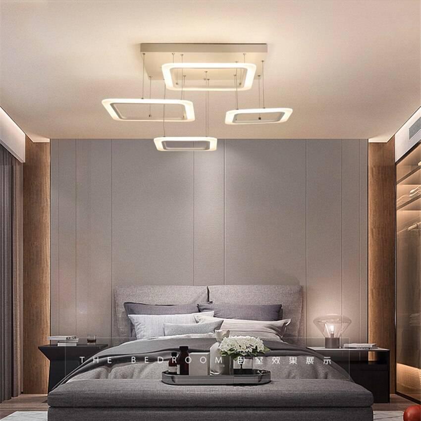 Люстра в спальню: топ-150 фото идей и модных вариантов потолочных люстр для интерьера спальной комнаты