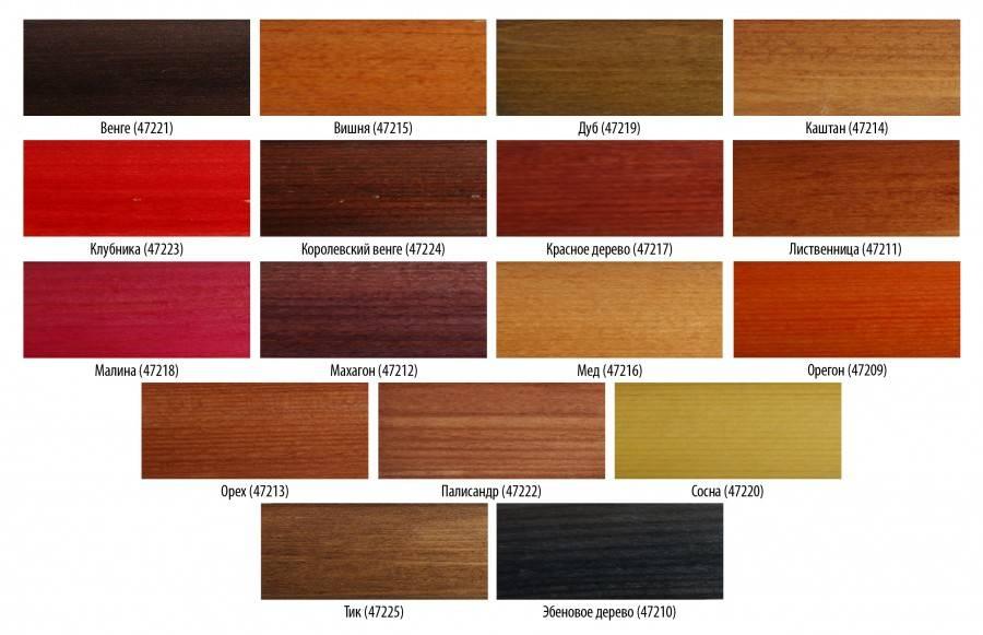 Морилка для дерева: виды, цветовая гамма, какую выбрать, как сделать и покрыть деревянные изделия своими руками