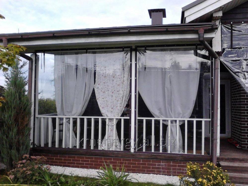 Уличные шторы для беседок и веранд — красивая защита от солнца