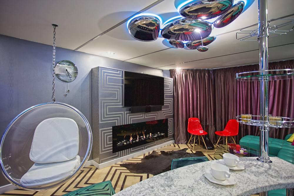Как оформить комнату в стиле космос: фото, советы, идеи