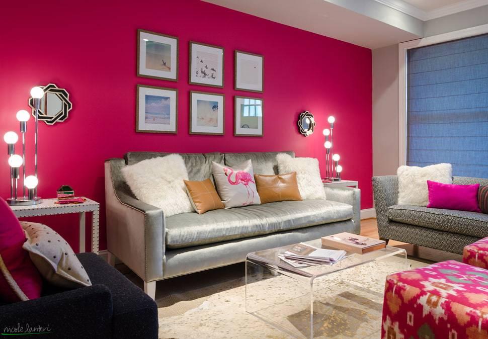 Цвет в интерьере гостиной: топ-150 фото идей дизайна + таблица сочетания цветов