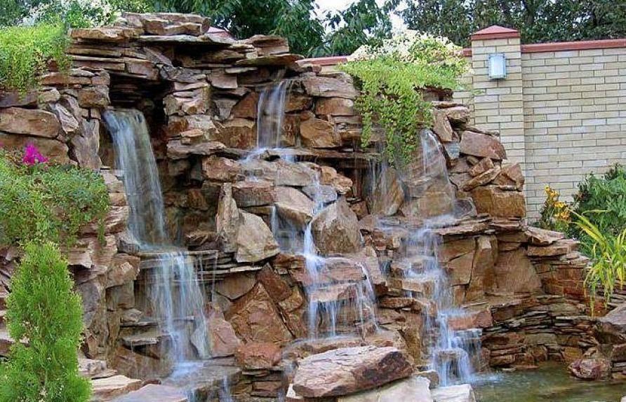 Как сделать красивый водопад на даче своими руками (50 фото) - каталог статей на сайте - домстрой