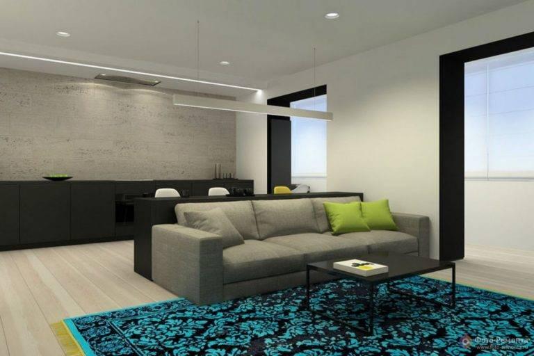 50 гостиных в стиле минимализм: дизайн от пола до потолка
