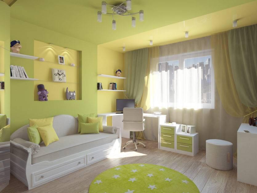 Детская комната 10 кв. м: фото, выбор дизайна, планировка для одного и двух подростков, мальчиков и девочек, интерьер