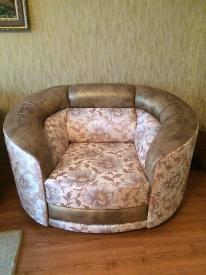Как самому перетянуть кресло в домашних условиях