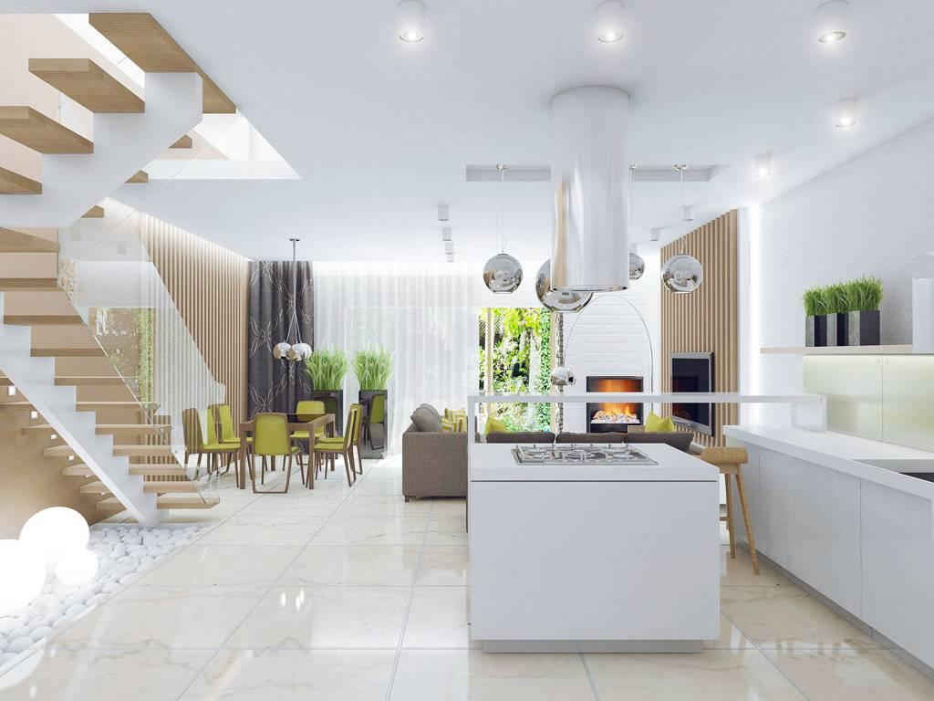 Дизайн таунхауса: преимущества, особенности планировки, выбор стиля интерьера от модерна до лофта - 39 фото
