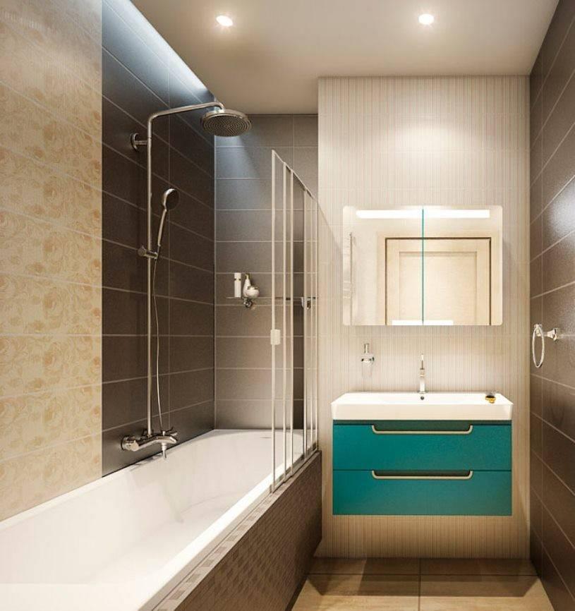 Дизайн ванной комнаты 3 кв. м.: с душевой кабиной, ванной, совмещенный вариант