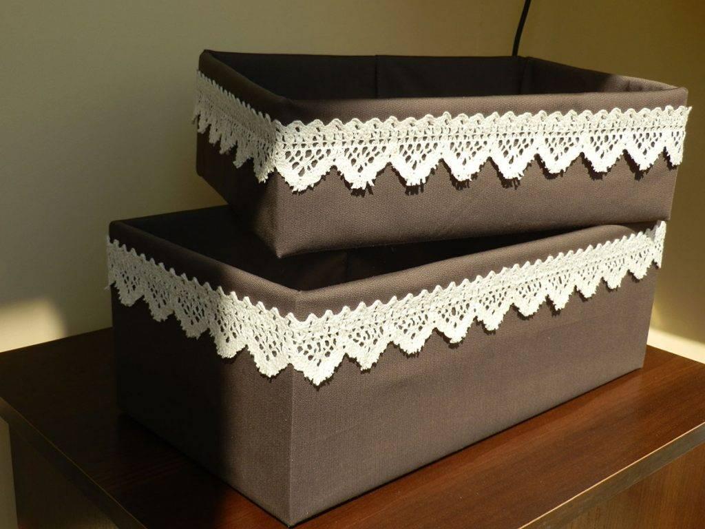 Коробка своими руками - идеи создания и декора коробок своими руками