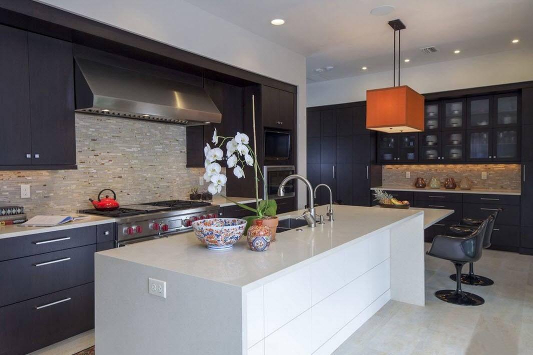 120 самых стильных идей дизайна кухни в современном стиле