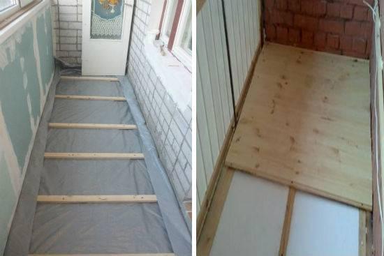 Из чего сделать пол на балконе или лоджии: материалы