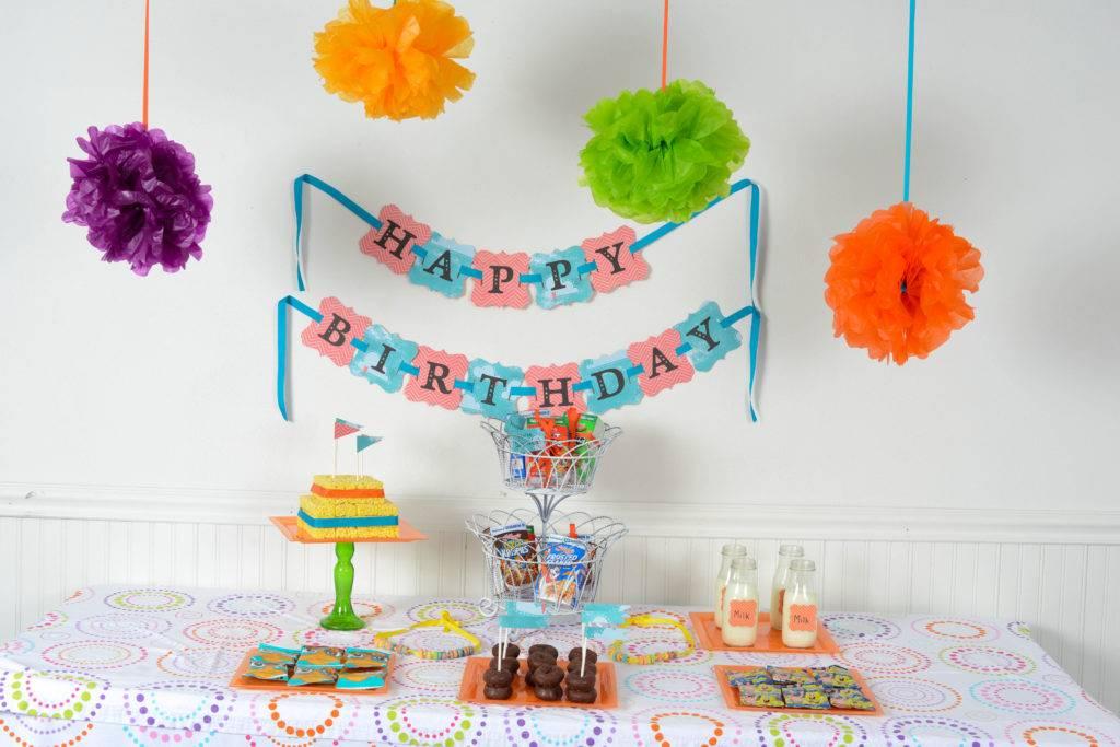 Как украсить комнату на день рождения ребенка своими руками? идеи оформления