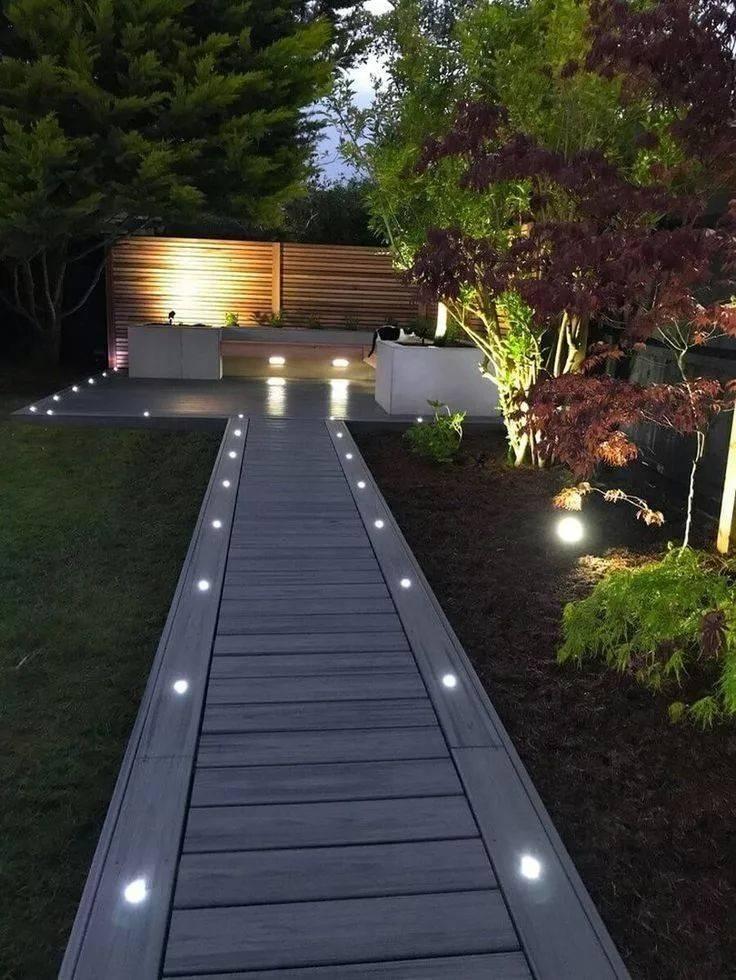 Садовое освещение, декоративное и функциональное - фото примеров, лучшие идей