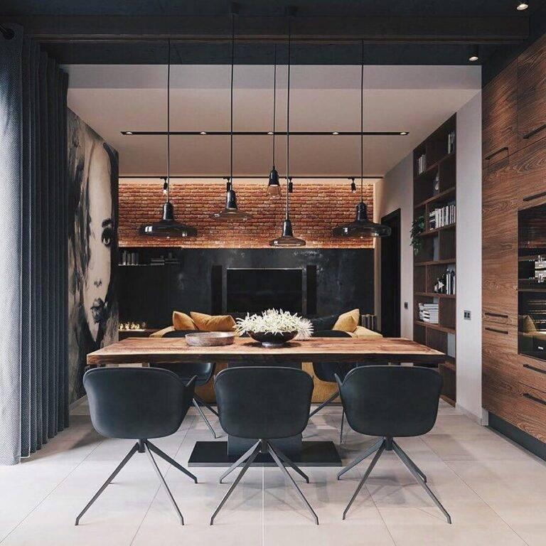 Кухня в стиле лофт: примеры оформления кухни в современном и актуальном модном стиле