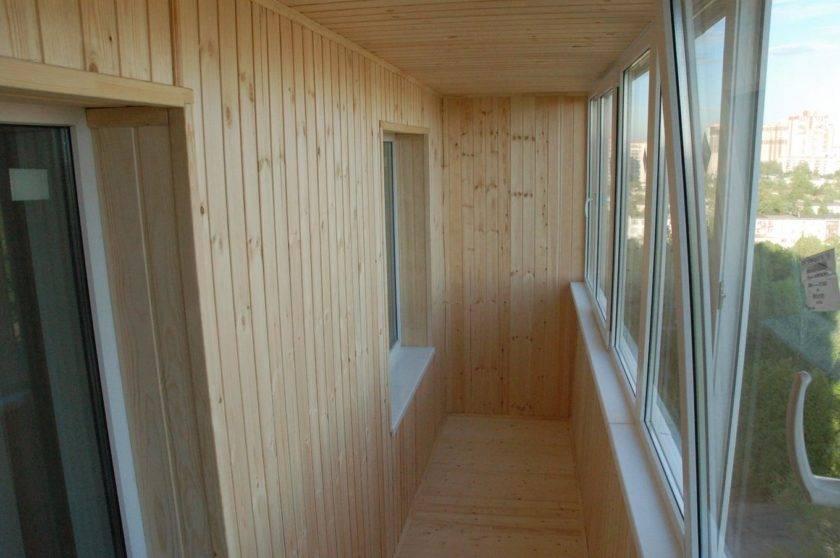 Отделка балкона вагонкой изнутри своими руками: подробная инструкция!