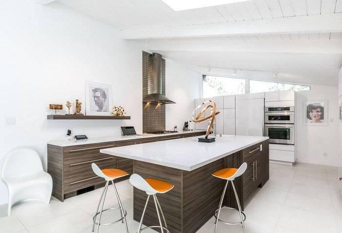 Кухня цвета венге, в какие стили вписывается, правильные цветовые комбинации - 22 фото