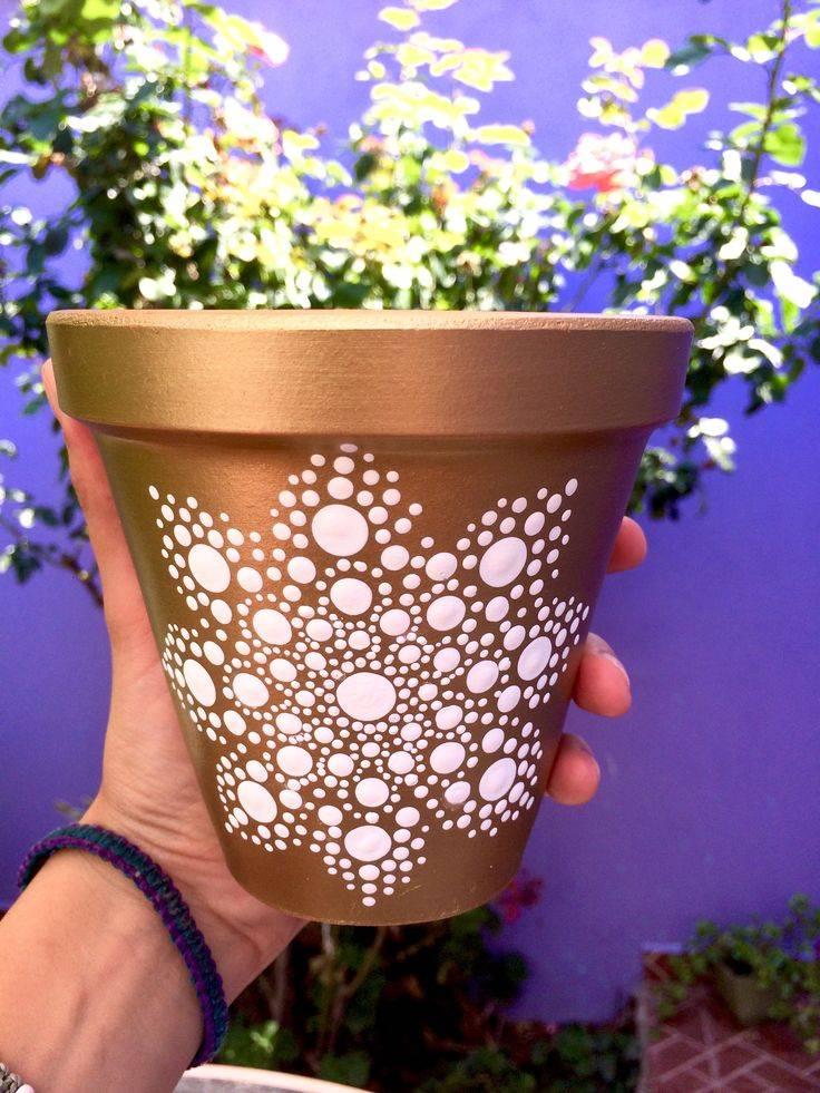 Горшки для цветов своими руками: 145 фото идей, как сделать красивый горшок из подручных материалов