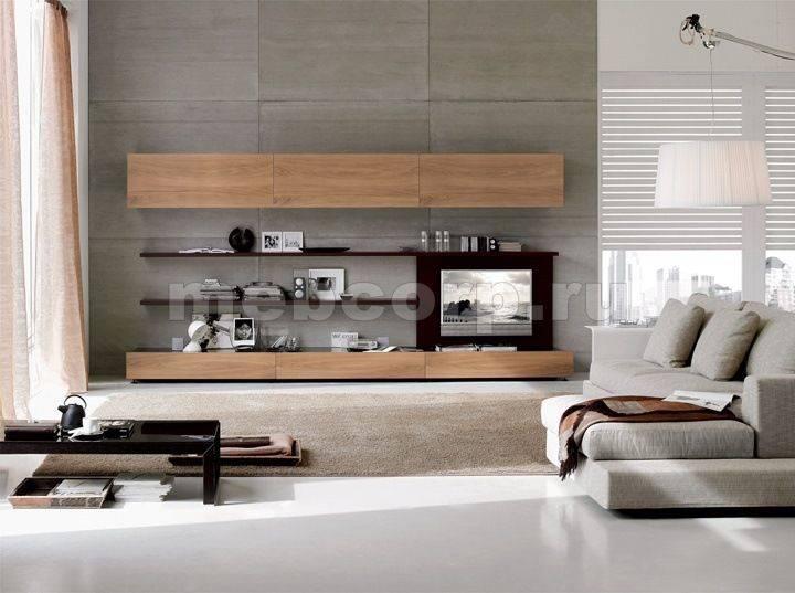 Мини-стенки для гостиной — 100 фото примеров модного дизайна