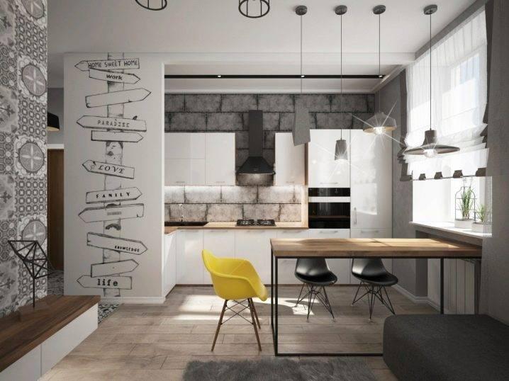 Особенности стиля «лофт» . как подобрать мебель для кухни в стиле лофт
