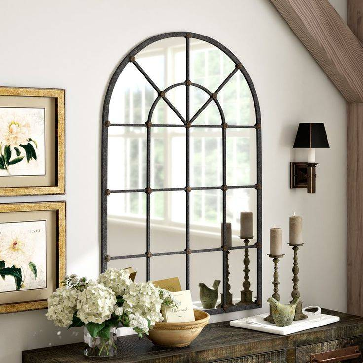 Фальш-окно в интерьере
