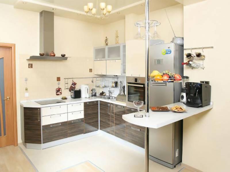 Угловые кухни в интерьере — 119 модных идей