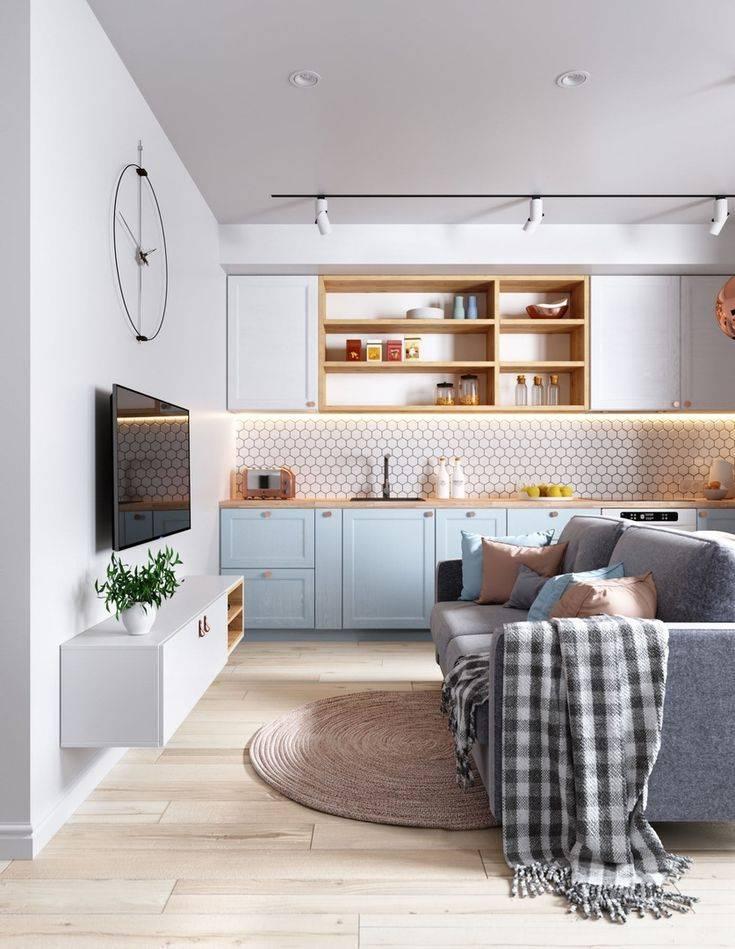 Дизайн интерьера однокомнатной квартиры: идеи и рекомендации в 2020 году   блог мебелион.ру