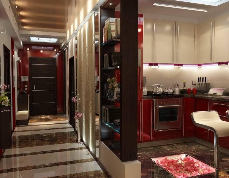 Кухня, совмещенная с коридором: идеи умной модернизации.
