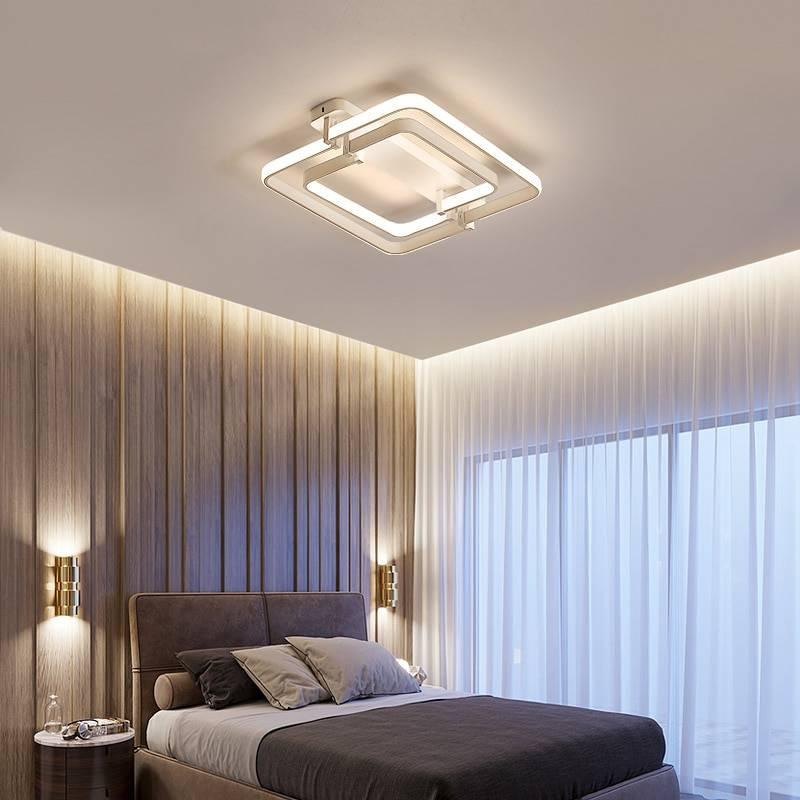 Натяжной потолок в спальню: фото лучших примеров дизайна с подсветкой и без люстры, матовых и глянцевых