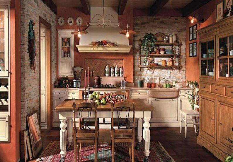 Деревенский стиль кухни: особенности оформления, плюсы и минусы, тренды