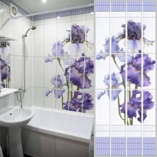 100 лучших идей дизайна: пластиковые стеновые панели в ванной