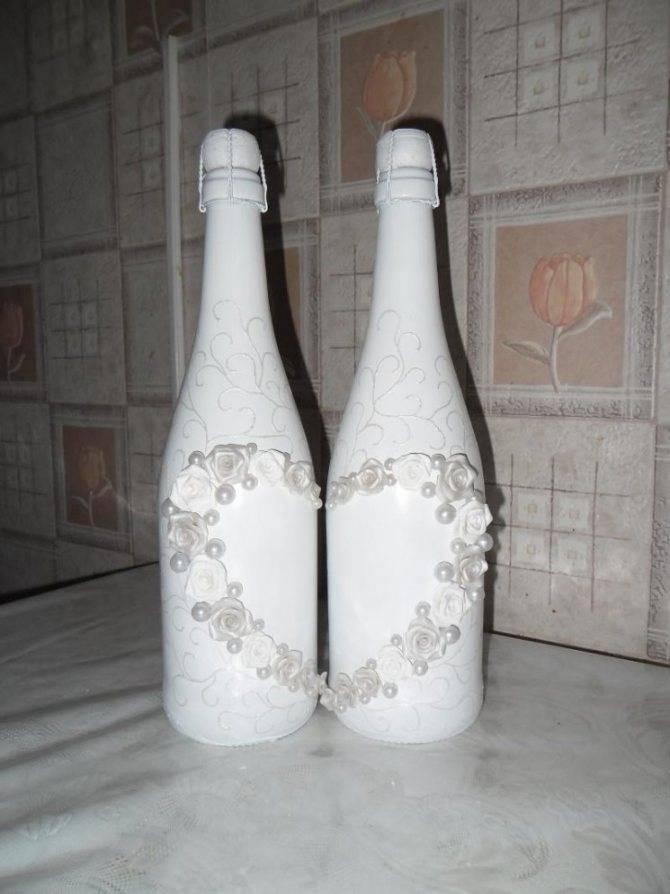 2021 ᐈ ???? (+106 фото) декор свадебных бутылок своими руками