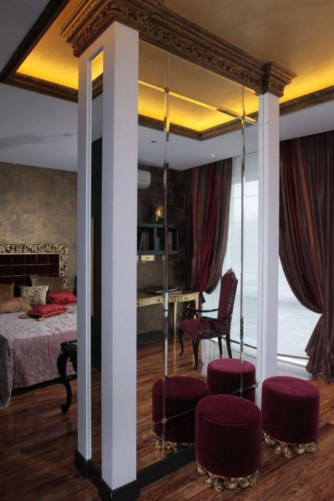 Колонны в интерьере (78 фото): оформление и дизайн колонн в квартире. как обыграть с помощью декоративной штукатурки и другими способами?
