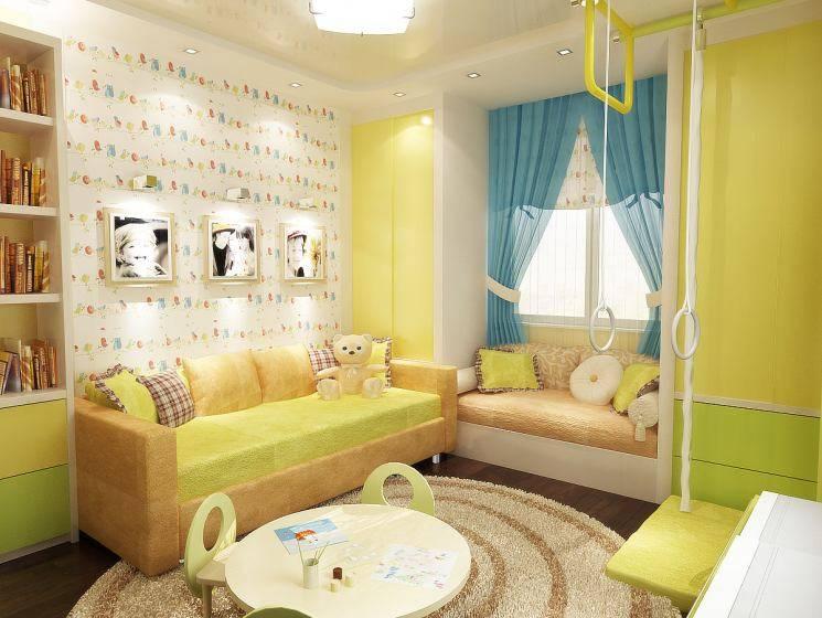 Дизайн детской комнаты 10 кв. м. – лучшие идеи и фото