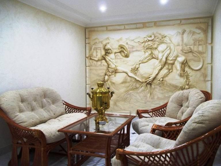 Барельеф для стен: особенности применения рельефной отделки