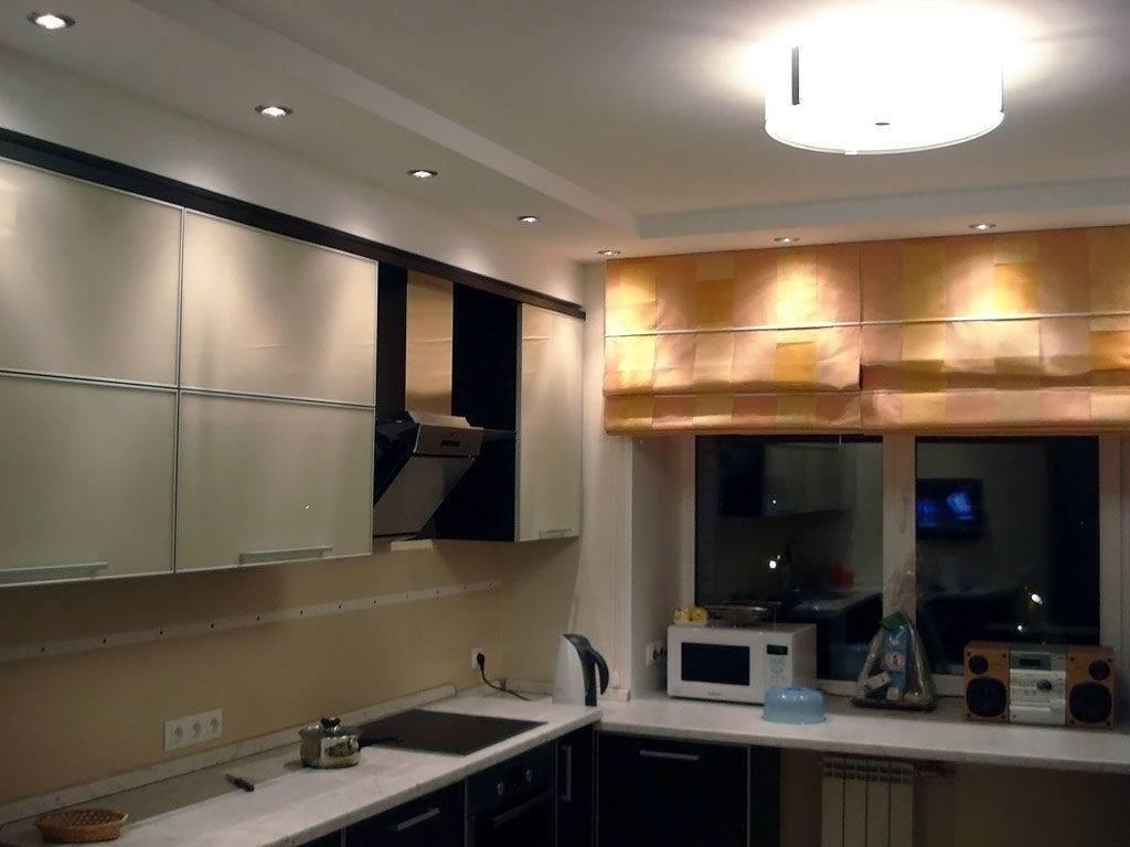 Потолки из гипсокартона на кухне: удачные варианты дизайна