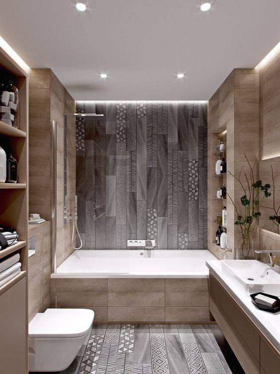 Дизайн ванной 3 кв. м. - лучшие варианты планировки для маленькой ванной (150 фото)