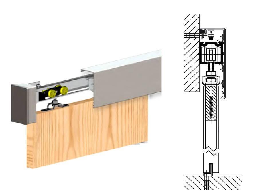 Как установить дверь-купе своими руками: пошаговая инструкция, схемы монтажа и чертежи
