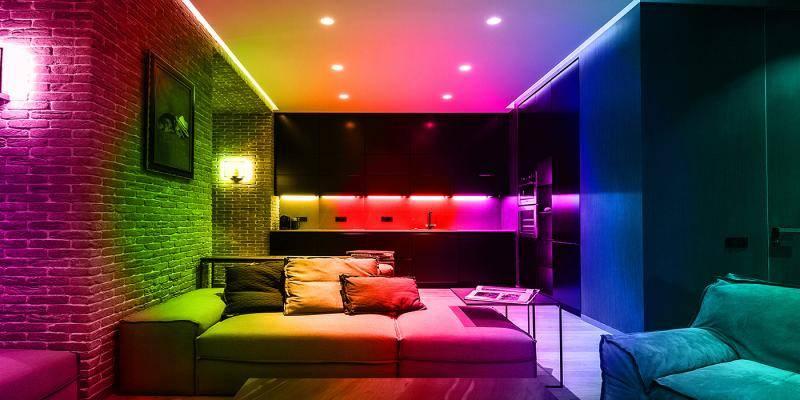 Декоративное освещение: виды и способы