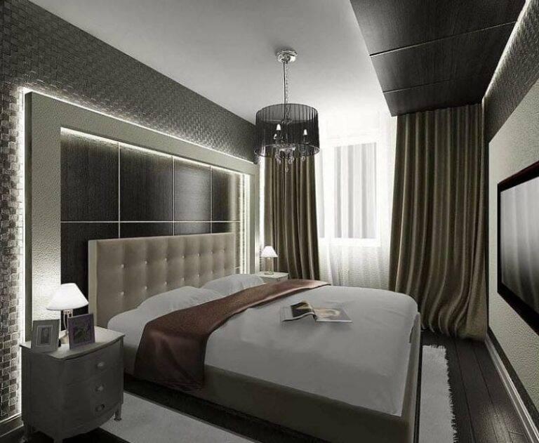 Правила оформления дизайна спальни в хрущевке