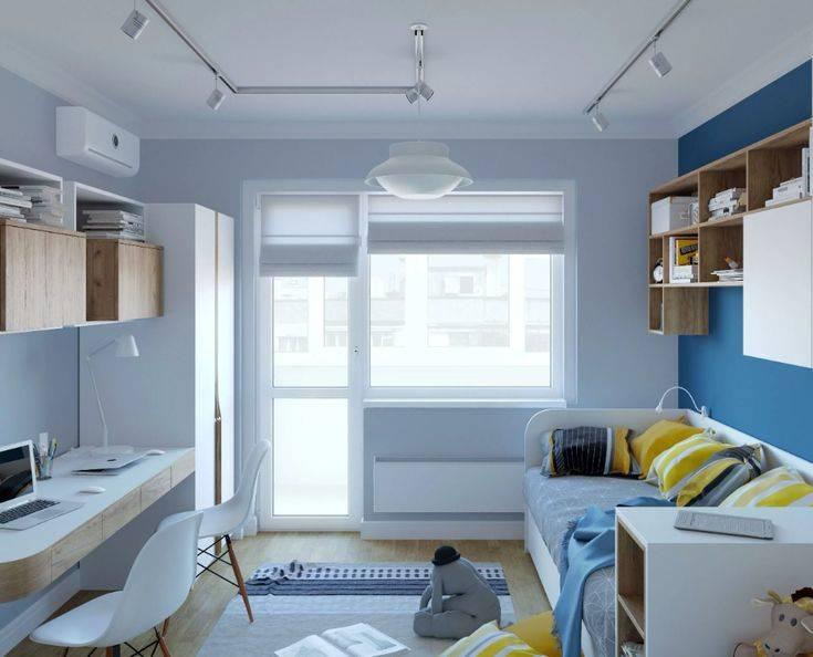 Дизайн детской комнаты 10 кв. м: что учитывать при выборе оформления