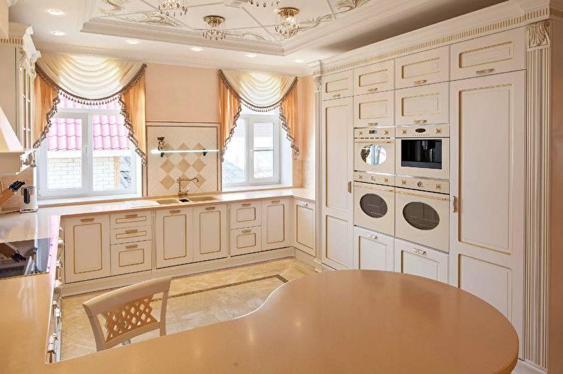 Дизайн кухни в классическом стиле: отделка и 70+ фото интерьера
