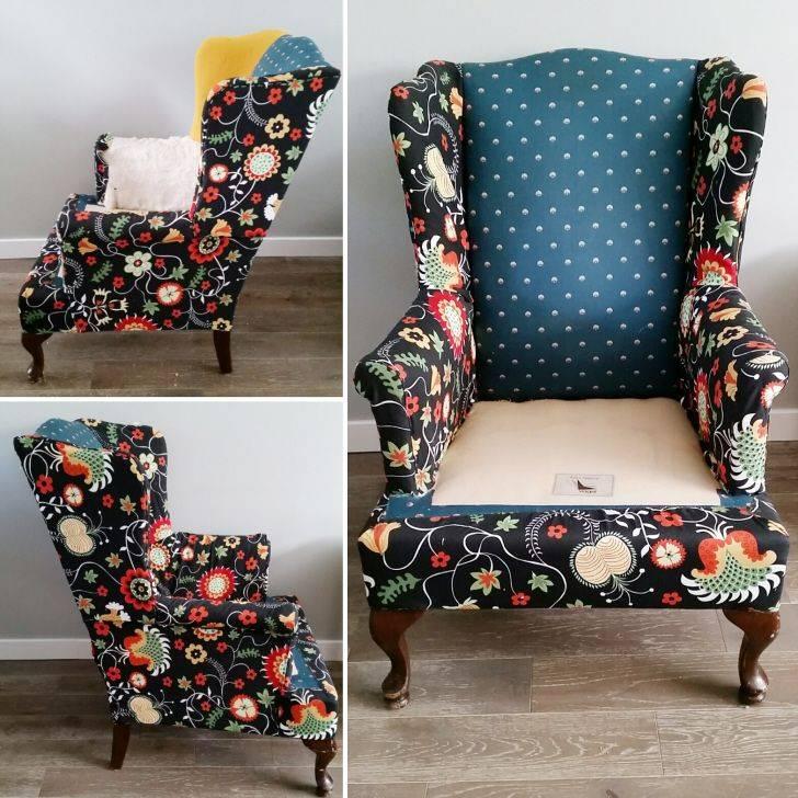 Как перетянуть кресло? – правильно своими руками