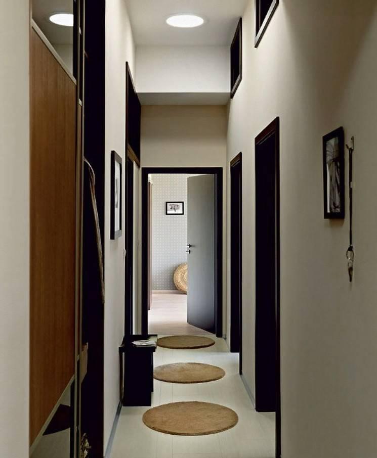 Дизайн узкой прихожей - фото реальные в квартире