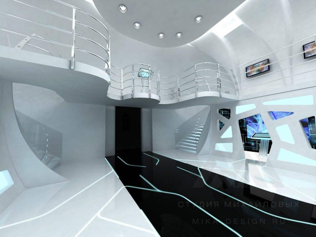 Космический стиль в дизайне интерьера – фото креативных идей