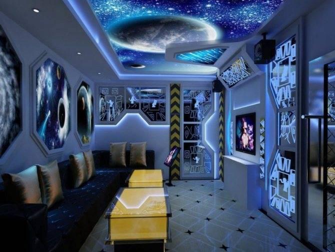 Космос в интерьере: стильно и фантастически красиво