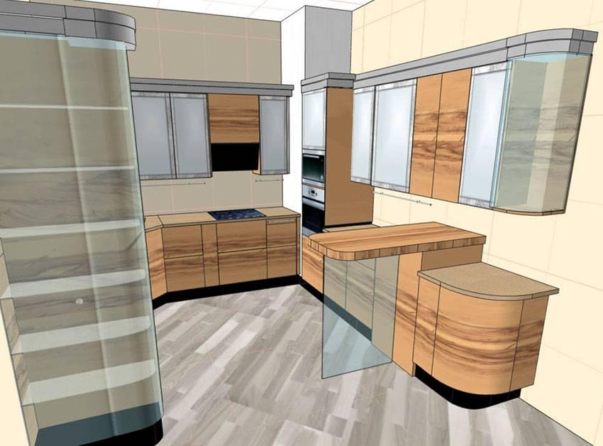 Кухня в частном доме - 100 фото идей дизайна и правила оформления кухонь в домах