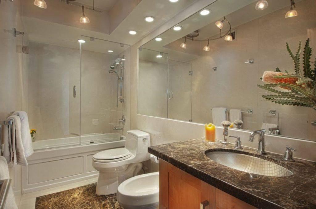 Освещение в ванной комнате: больше значит лучше?