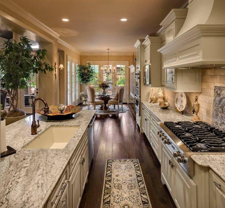 129 стильных вариантов дизайна кухни в частном доме