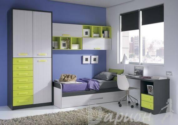 Мебель для подростковой комнаты, разновидности конструкций