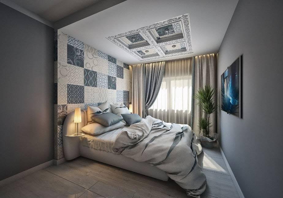 Дизайн спальни 20 кв. м + 70 фото идей планировки и интерьера